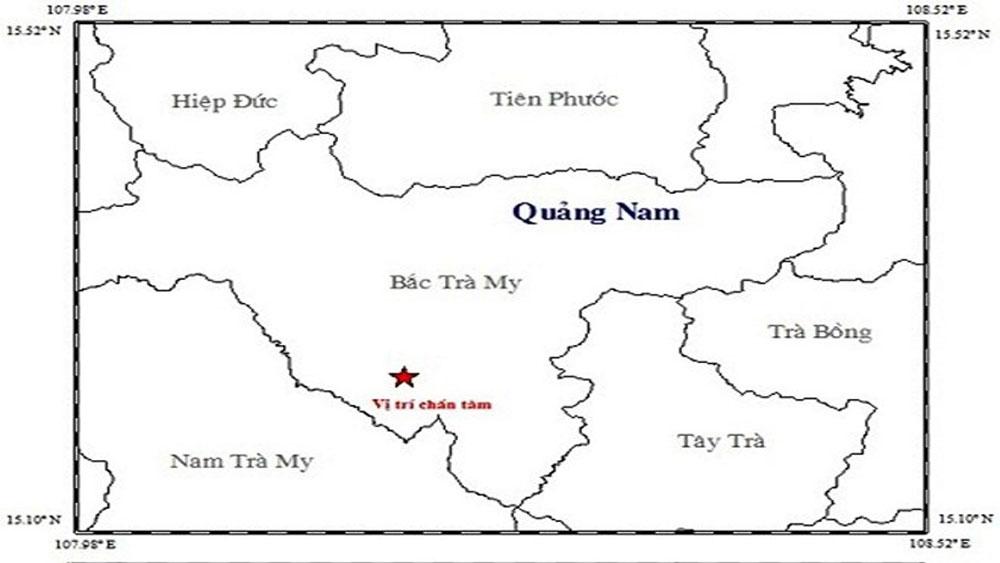 Liên tiếp xảy ra động đất tại Quảng Nam và Sơn La